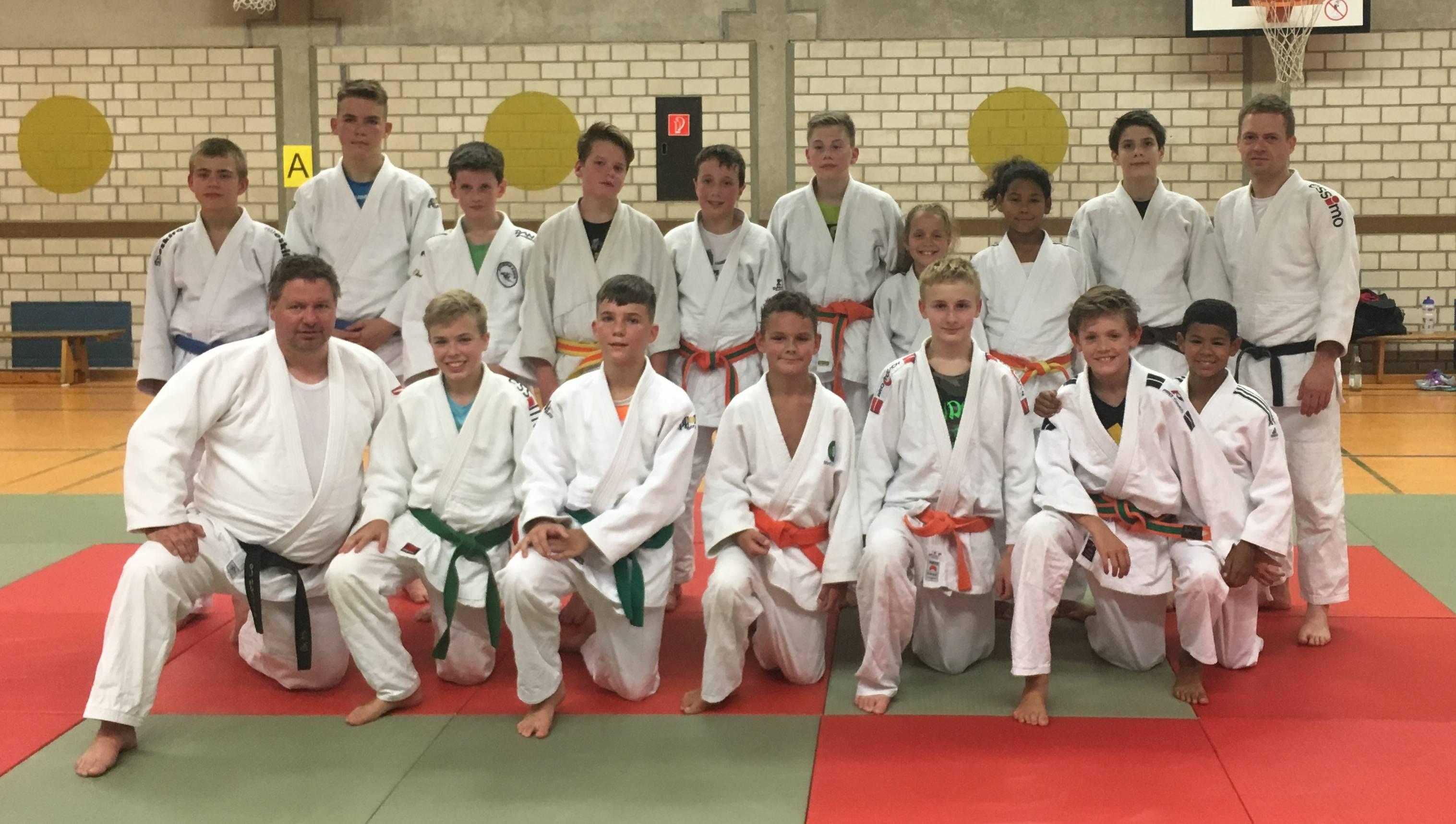 2017 September 11 erstes JG Training